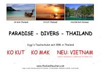 ไทยแลนโทเซนต์ - thailandtauchen.com