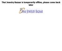 ไทยจิวเวอรี่บาร์ซ่าส์ - thaijewelrybazaar.com