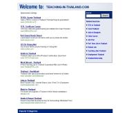 ทีชชิ่งอินไทยแลนด์ - teaching-in-thailand.com