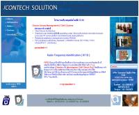 บริษัท ไอคอนเทค โซลูชั่น จำกัด - icontechrfid.com