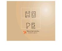 โฮปแฟมิลี่ - hope-family.com