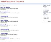 สำนักงานวัฒนธรรมจังหวัดแม่ฮ่องสอน - maehongsonculture.com