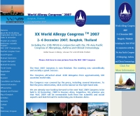 งานประชุม World Allergy Congress 2007  - wac2007.com