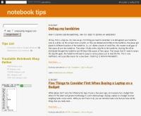 โน้ตบุ๊คทิป - notebooktips.blogspot.com