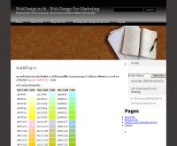 เว็บดีไซน์ - webdesign.in.th