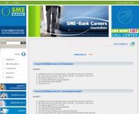 สมัครงาน ธนาคารพัฒนาวิสาหกิจขนาดกลางและขนาดย่อมแห่งประเทศไทย - smebank.co.th/career.php