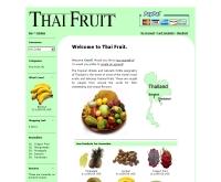 ไทยฟรุต - thaifruit.org