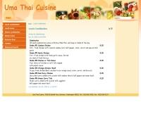ร้านอาหารไทยอุมา - umathai.com