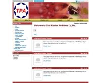 บริษัท ไทยพลาสเทคส์ แอดดิทีฟส์  จำกัด - thaiplastex.com