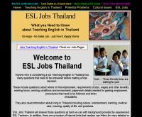 อีเอสแอลจ๊อบไทยแลนด์ - esljobsthailand.com