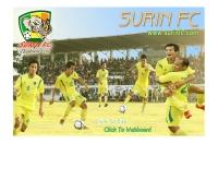 สโมสรฟุตบอลสุรินทร์  - surinfc.com