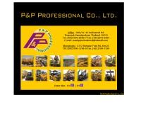 บริษัท พี แอนด์ พี โปรเฟสชั่นแนล จำกัด  - pandpprofessional.com