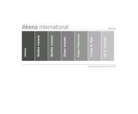 บริษัท เอเคน่า อินเตอร์เนชั่นแนล จำกัด - akena-inter.com