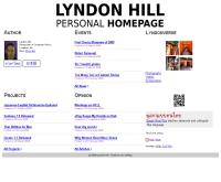ลินด็อน ฮิลล์ - lyndonhill.com
