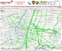 รายงานสภาพจราจรผ่านอินเทอร์เน็ต - traffic.thai.net/