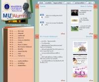 สมาคมศิษย์เก่ามหาวิทยาลัยมหิดล ในพระบรมราชูปถัมภ์ - mualumni.mahidol.ac.th