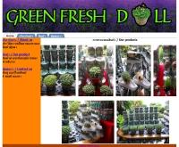 Green Fresh Doll ตุ๊กตาต้นไม้ - greenfreshdoll.com