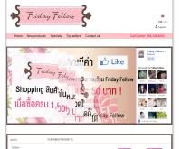Fridayfellow แฟชั่นเสื้อผ้า - fridayfellow.com/