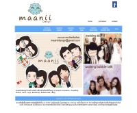 maaniidesign รับสร้างสรรค์งานดีไซน์ ในสไตล์ที่เป็นคุณ (Present Animation, Wedding Stand, Card, Logo - maaniidesign.com