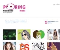 Poring Freelance รับออกแบบกราฟฟิคและสื่อสิ่งพิมพ์ - poringfreelance.com