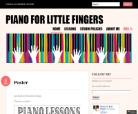 Piano for little fingers - pianoforlittlefingers.wordpress.com/